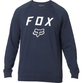 Fox Legacy Crew Neck Fleece Trui Heren, midnight